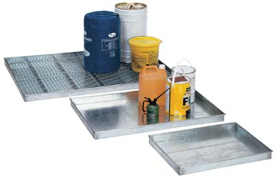Galvanised Drip Trays Galvanised Drip Trays Storage For