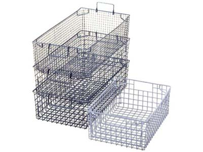 tote baskets  sc 1 st  Storefab & Mesh Tote Baskets Tote Baskets in zinc plated or plastic coated ...